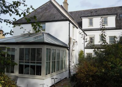 Exterior painting work